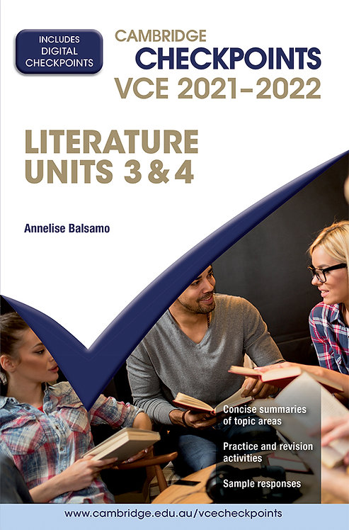 Cambridge Checkpoints VCE Literature Units 3&4 2021