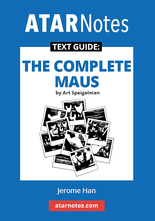 ATARNotes Text Guide: The Complete Maus