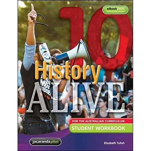 History Alive 10 for the Australian Curriculum Student Workbook