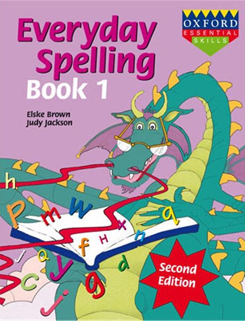 Everyday Spelling Book 1