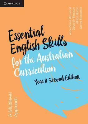 Essential English Skills for the Australian Curriculum Year 8 2E Workbook