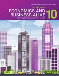 Jacaranda Economics and Business Alive 10 Victorian Curriculum 2E (DIGITAL)