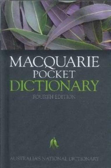 Macquarie Pocket Dictionary 4E