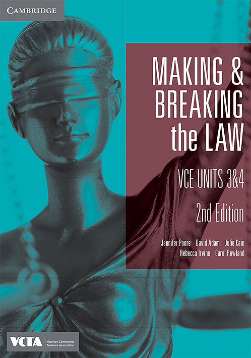 Making and Breaking the Law Units 3&4 2E (PRINT + DIGITAL)