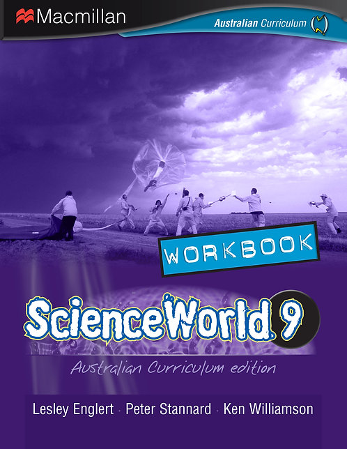 Macmillan ScienceWorld 9 Australian Curriculum Workbook 4E