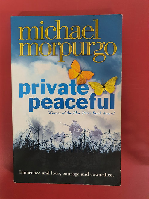 Private Peaceful (SECOND HAND)
