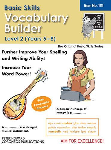 Vocabulary Builder Level 2 Years 5 - 8 (Basic Skills No. 151)