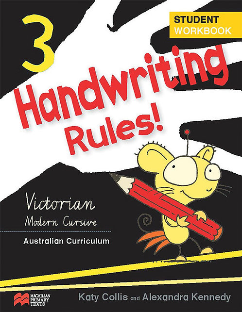 Handwriting Rules! - Victorian Modern CursiveYear 3
