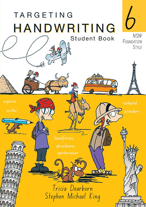 Targeting Handwriting: NSW Year 6 Student Book