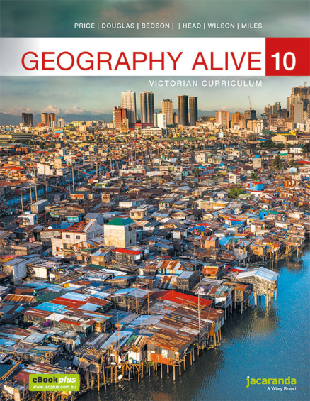 Jacaranda Geography Alive 10 Victorian Curriculum (PRINT + DIGITAL)
