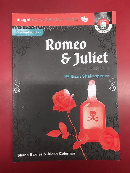 Insight Shakespeare Series Romeo & Juliet (Abridged) 2E (SECOND HAND)