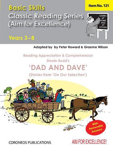 Dad & Dave by Steele Rudd Yrs 3 to 8 (Basic Skills No. 121)