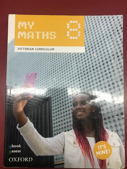 My Maths 8 Victorian Curriculum (SECOND HAND)