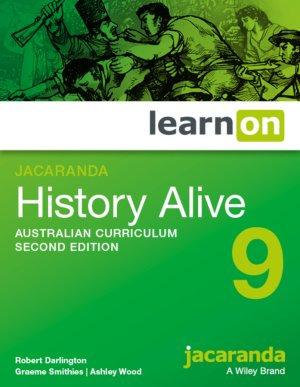 Jacaranda History Alive 9 Australian Curriculum LearnON 2E (DIGITAL)