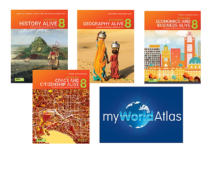 Humanities Alive 8 Victorian Curriculum LearnON Pack + Myworld Atlas (DIGITAL)