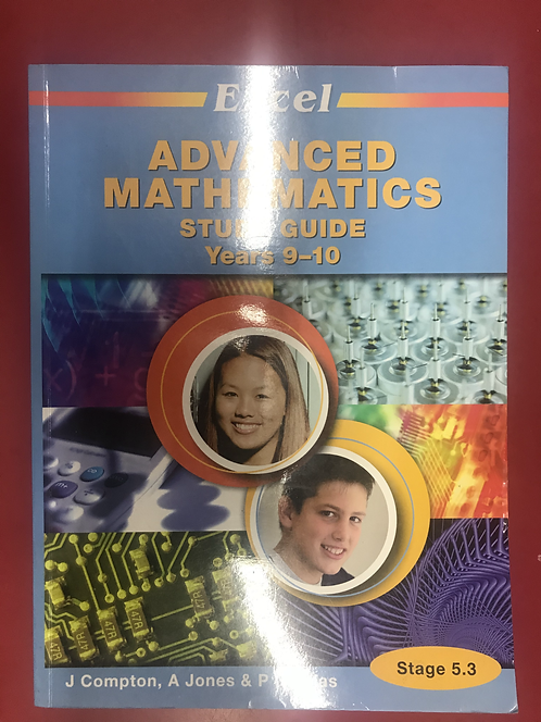 Excel Study Guide: Advanced Mathematics Years 9-10 (SECOND HAND)