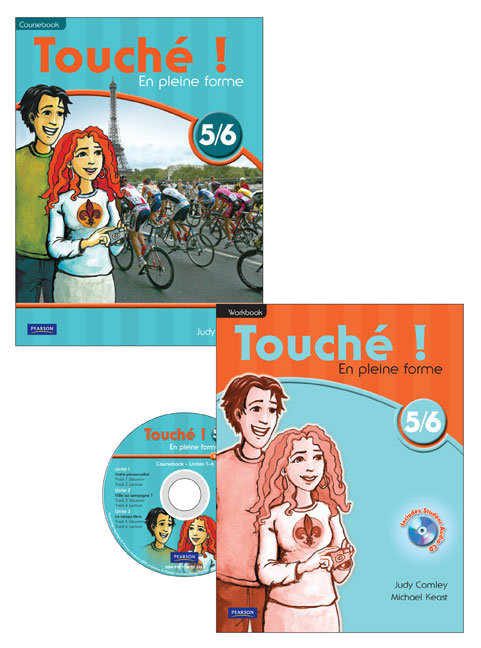 Touche ! 5/6 Coursebook and Workbook Pack
