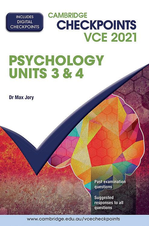 Cambridge Checkpoints VCE Psychology Units 3&4 2021