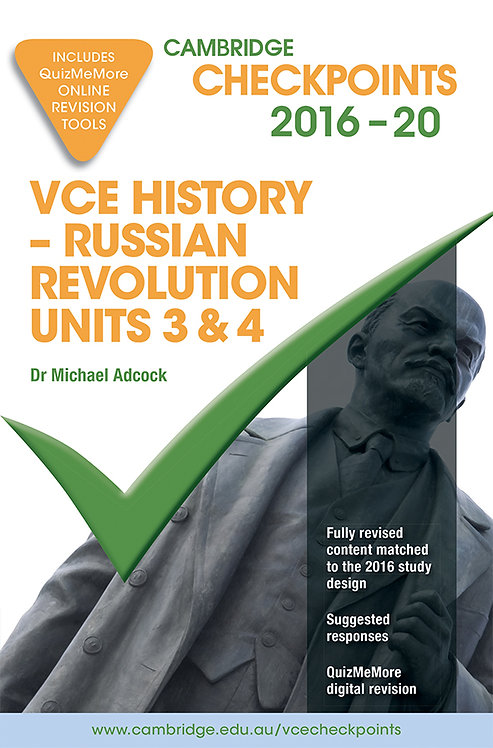 Cambridge Checkpoints VCE History - Russian Revolution Units 3&4