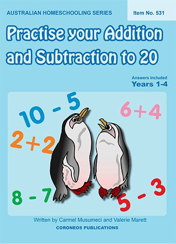Practise Your Addition and Subtraction to 20 (Item No. 531)