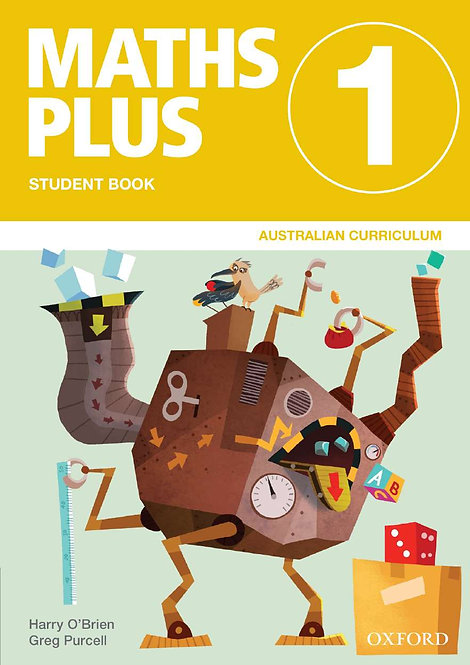Maths Plus Aus Curriculum Edition Mentals & Homework Book 1 2016