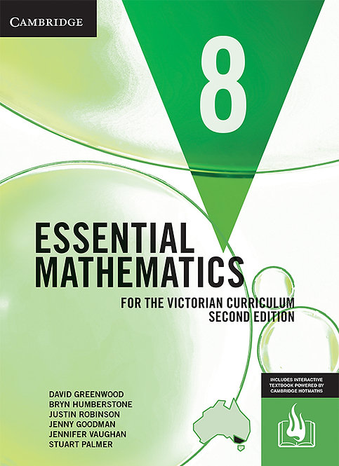Essential Mathematics for the Victorian Curriculum Year 8 2E (DIGITAL)