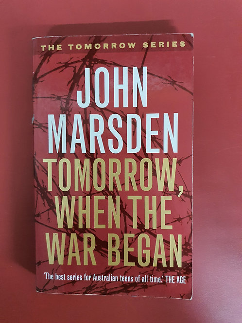 Tomorrow, When the War Began (SECOND HAND)