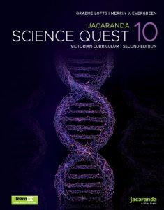 Jacaranda Science Quest 10 2E Victorian Curriculum + AssessON (PRINT + DIGITAL)