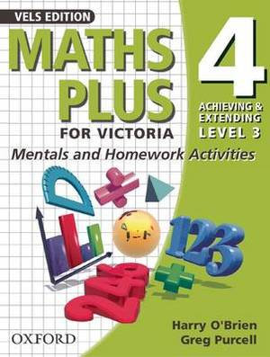 Maths Plus for Victoria - Mentals and Homework Activities Year 4