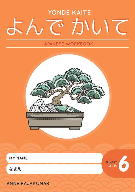 Yonde Kaite Japanese Workbook Primary Level 6