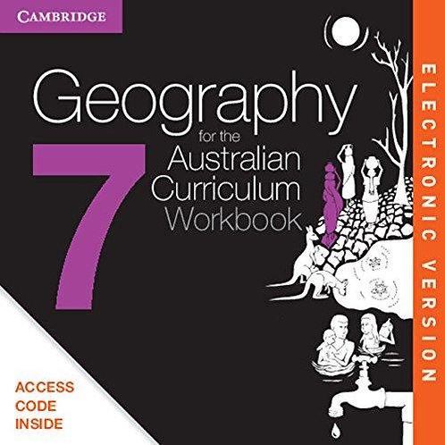 Geography for the Australian Curriculum Year 7 Workbook (DIGITAL)