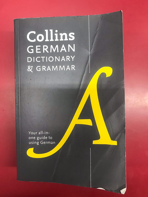 Collins German Dictionary and Grammar 8E (SECOND HAND)