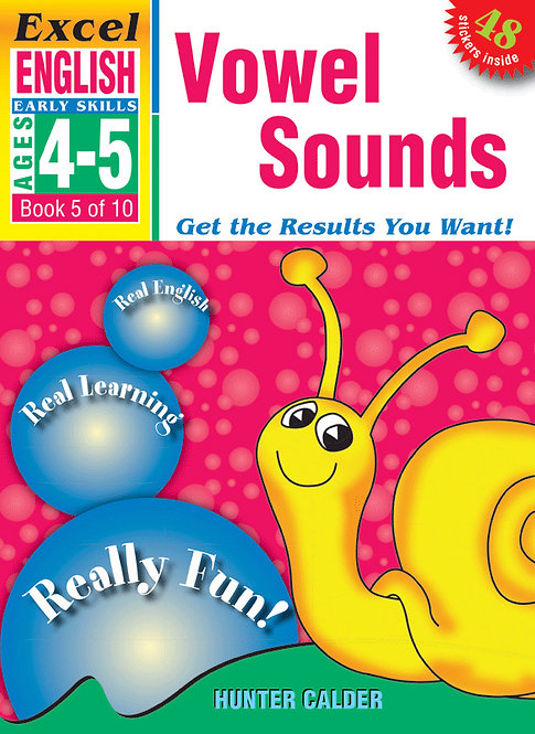 Excel Early Skills:English Book 5 Vowel Sounds