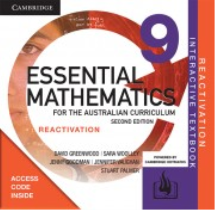 Essential Maths for the Australian Curriculum 9 2E Reactivation Code