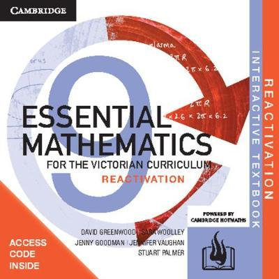Essential Mathematics for the Victorian Yr 9 Reactivation Code (DIGITAL)