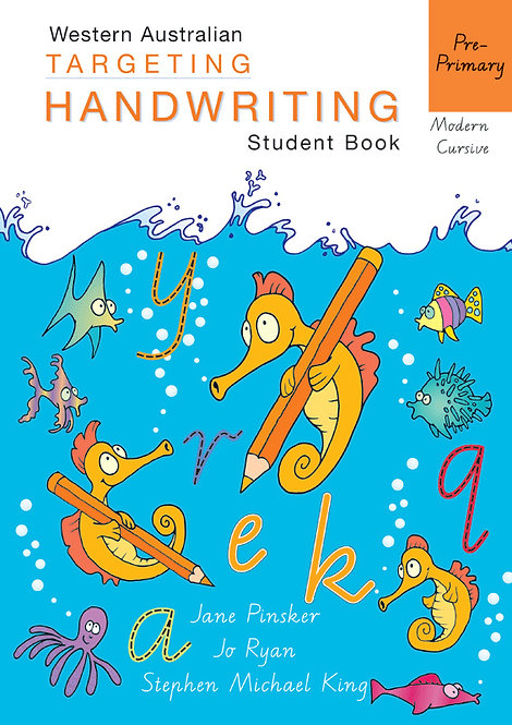 Targeting Handwriting: WA Pre-Primary Student Book
