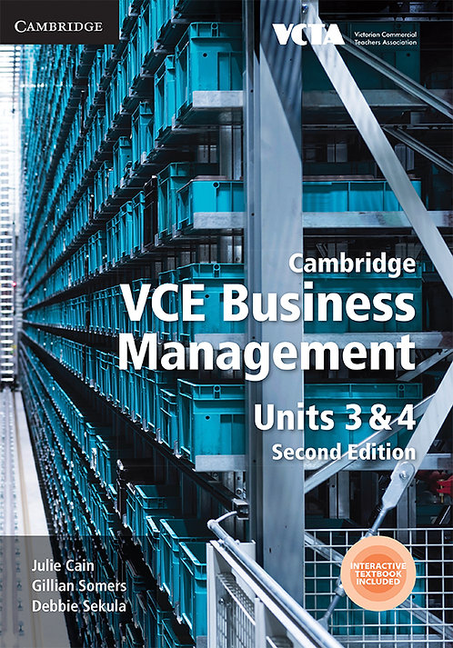 Cambridge VCE Business Management Units 3&4 2E (DIGITAL)