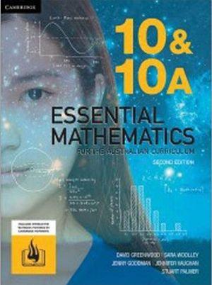 Essential Mathematics for the Australian Curriculum 10&10A 2E (PRINT + DIGITAL)
