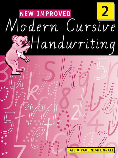 New Improved Modern Cursive Handwriting Victoria Year 2