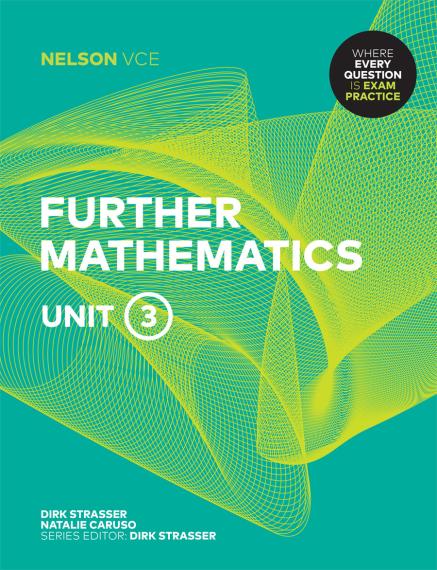 Nelson VCE Further Mathematics Unit 3 Print + 4 Access Codes (PRINT + DIGITAL)