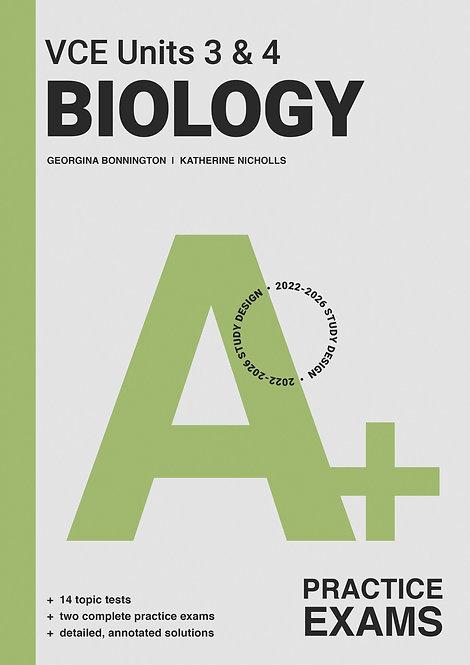 A+ Biology Exam VCE Units 3&4