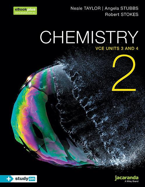 Chemistry 2 VCE Units 3&4 + StudyOn (PRINT + DIGITAL)