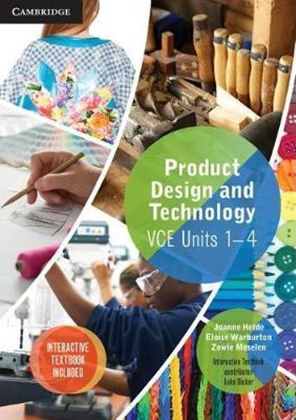 Product Design and Technology VCE Units 1–4 Value Pack (PRINT + DIGITAL)