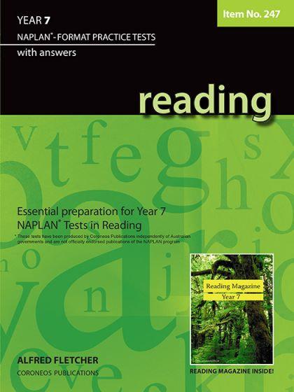 Reading Year 7- NAPLAN* Format Practice Tests #247