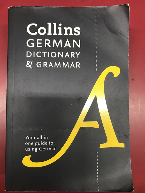 Collins German Dictionary and Grammar 7E (SECOND HAND)