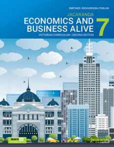 Jacaranda Economics and Business Alive 7 Victorian Curriculum 2E (DIGITAL)