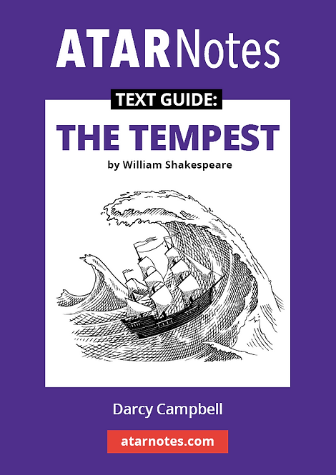 ATARNotes Text Guide: The Tempest