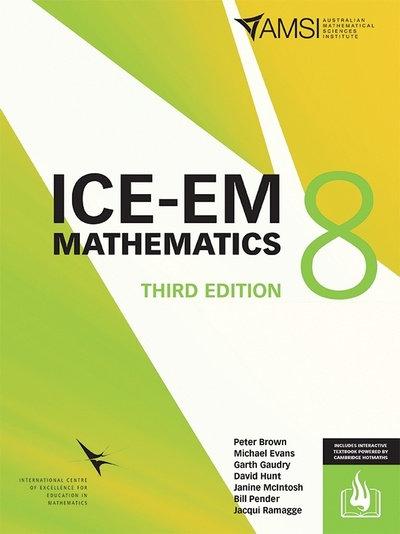 ICE-EM Mathematics Year 8 3E (PRINT + DIGITAL)