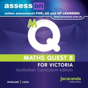 Jacaranda Maths Quest 8 for Victoria Australian Curriculum AssessON (DIGITAL)