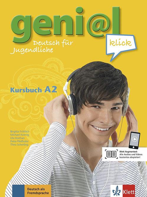 Genial Klick 2 A2 Kursbuch & CDs (2)